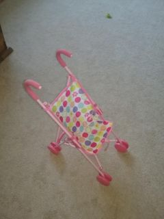 Collapsible doll stroller