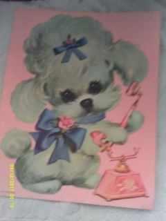 Puppy Prints by Colonial Studios 1970