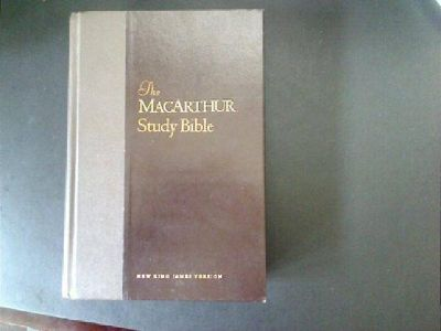 $10 The Macarthur Study Bible ~ New King James Version (NKJV) [Hardcover] (Meridian)