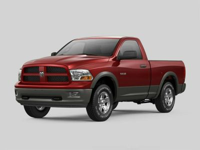 2009 Dodge RSX Laramie (Flame Red Clearcoat)