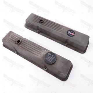 Purchase Corvette OEM Crossfire Injection Magnesium Valve Cover Pair w/ Fill Cap 1984 motorcycle in Livermore, California, United States, for US $119.97