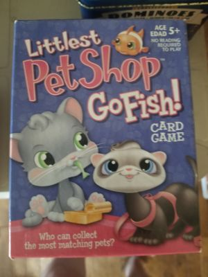 LPS go fish card game