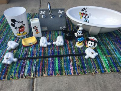 Playful as a Mouse! Koehler Minnie & Mickey Mouse Bathroom Fixtures