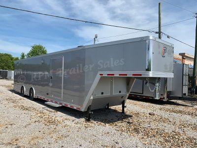 40' inTech Aluminum Gooseneck Race Trailer - 12311