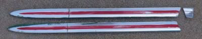 Purchase 1963 1964 63 64 Ford truck F100 unibody F250 custom cab hood molding moldings motorcycle in Orangevale, California, United States, for US $90.00