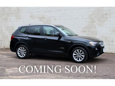 2016 BMW X3 xDrive AWD Turbo Crossover (Black)