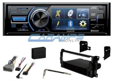 "Buy NEW JVC STEREO W/ CD/DVD PLAYER & 3"" DISPLAY & BLUETOOTH W/ INSTALLATION KIT motorcycle in Salt Lake City, Utah, United States, for US $249.95"