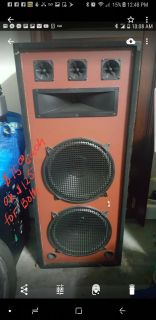 Tall home speakers