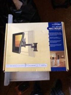 VUE POINT FULL MOTION WALL MOUNT FITS 23 - 37 FLAT SCREEN TVS