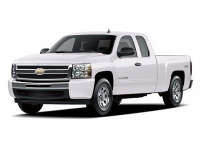 2009 Chevrolet Silverado 1500 LT (Summit White)