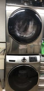 Samsung Washer & Gas Dryer