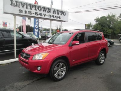 2009 Toyota RAV4 Sport (Barcelona Red Metallic)
