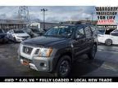 used 2015 Nissan Xterra for sale.