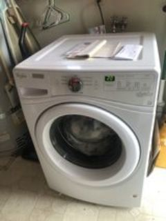 like new front load washer