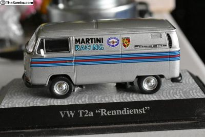 "VW T2a ""Renndienst' 1/43rd car model"