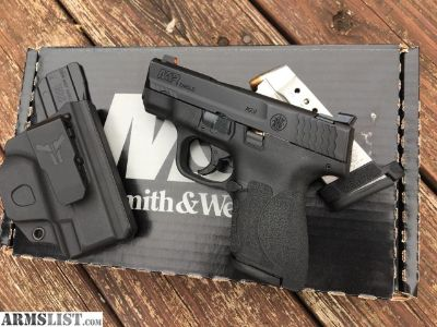 For Sale/Trade: Smith and Wesson M&P Shield 2.0 with Trijicon HDs NS