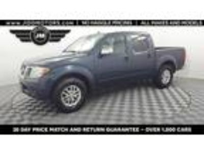 Used 2015 Nissan Frontier Blue, 97.1K miles