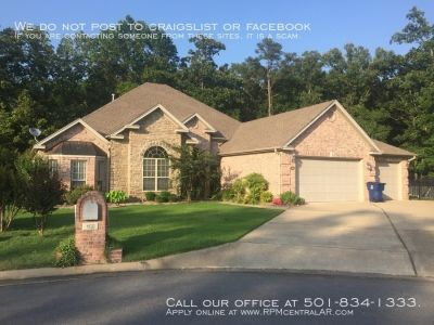 160 Marseille Dr., Maumelle AR 72113 - Stunning 4br 3ba on the golf course, Country Club of Arkansas