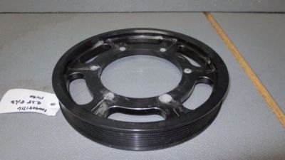 Purchase METCO Crank Pulley Ring 03-04 Cobra 99-04 Lightning 9.25 8 RIB motorcycle in Lebanon, Tennessee, United States, for US $88.50