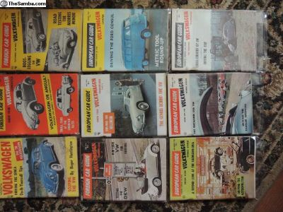 Foreign Car Guides 1958 & 1959