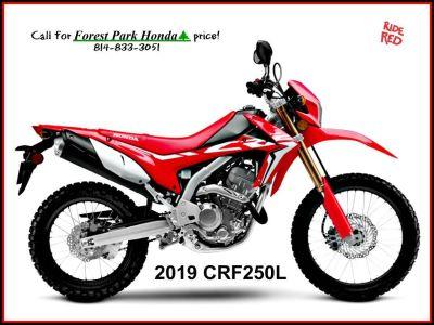 2019 Honda CRF250L Dual Purpose Erie, PA