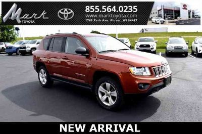 2012 Jeep Compass Latitude 4X4 w/Heated Seats, Remote Start, Alloy Wheels & P