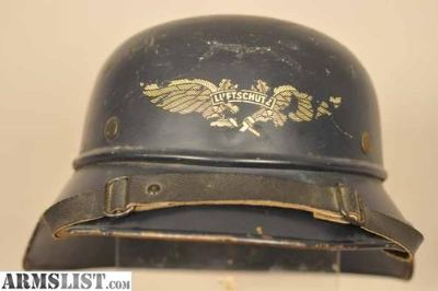For Sale/Trade: WW11 Nazi Luftschutz Helmet