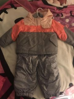 Coat double layer and snow pants