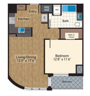 $6180 1 apartment in Bloomingdale