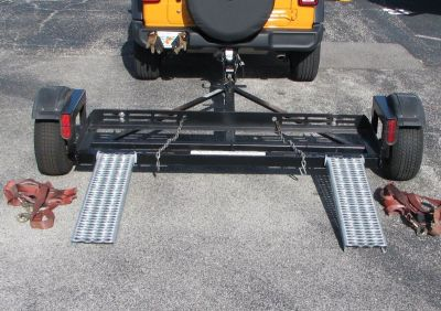 """ACME EZE-TOW"" Car Tow Dolly w/Hydraulic Disc Brakes (Space Saver)"