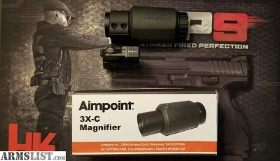 For Sale: Aimpoint Magnifier in Larue Flip to Side Mount (BRAND NEW!)