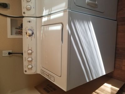GE ELECTRIC WASHER AND DRYER