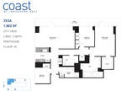 Coast at Lakeshore East - Three BR Penthouse City View: A
