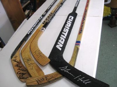$50 Autographed Hockey Sticks ~ Assorted Players