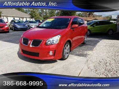 2009 Pontiac Vibe GT (Red Hot Metallic)