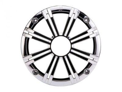 "Buy Kicker 41KM65GCR 6.5"" Round Grille For KM-Series Marine Coax Speaker - Chrome motorcycle in Nixa, Missouri, United States, for US $39.95"
