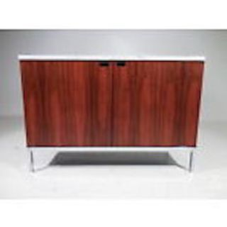 1960s Mid-Century Modern Knoll 2 Position Credenza