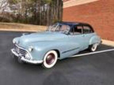 1946 Oldsmobile Model 98 Blue-Cream