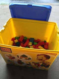 Mega Blox tote - bought on here but own too many