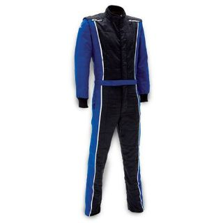 Purchase Impact Racing 24215406 Racer Suit SFI 3.2A/5 Rated Blue & Black Medium motorcycle in Delaware, Ohio, United States, for US $599.00