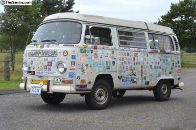 1971 VW Westfalia camper 20,000 original miles