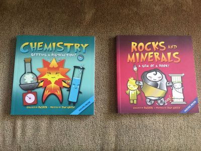Bashers Chemistry + Rocks and Minerals Books