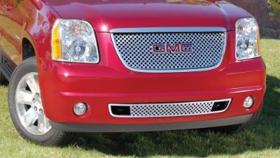 """Purchase 2007-2014 GMC Yukon/Yukon XL 2pc Denali Style """"Z"""" Grille Mirror Stainless Steel motorcycle in West Palm Beach, Florida, United States, for US $336.00"""