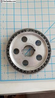 5.5-inch used SCAT aluminum pulley