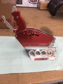 Precision Performance Shifter Red Proflite Transmission 3-sp