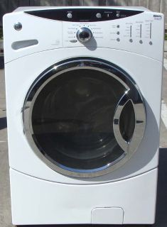 FRONT LOAD GE WASHER WITH WARRANTY