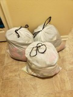 3 bags of juniors clothing