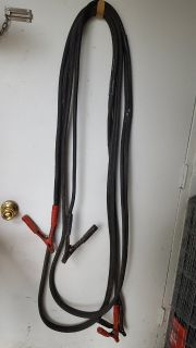 heavy duty, copper jumper cables