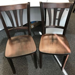 Dining Chairs- Wood
