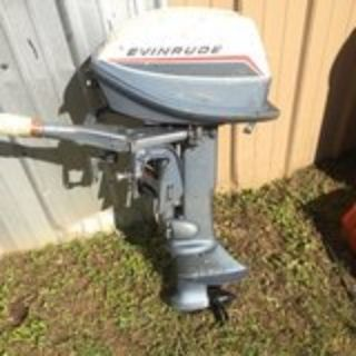 6hp Evinrude outboard boat motor